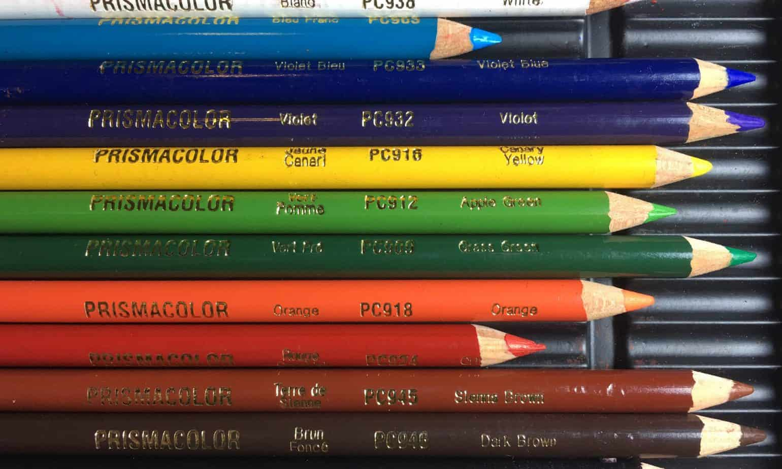 Prismacolor Premier Pencils